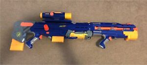 RARE Nerf Longshot CS-6 with everything (except box)
