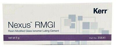 Kerr Nexus Rmgi Resin Modified Glass Ionomer Luting Cement 5gm Dental