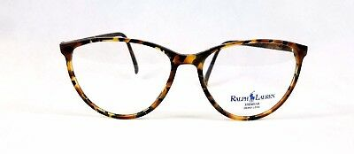 "Ralph Lauren ""525"" Tortoise Shell  026 Eyeglasses Frames 54-15~135 Cats Eye"
