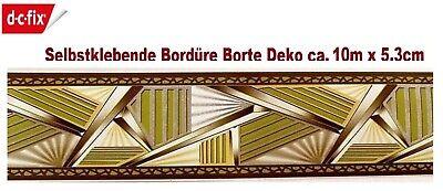 d-c-fix Selbstklebende Bordüre Borte Kinder Deko ca. 5,3 cm x 10 m