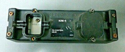 Kenwood Tk690 Tk790 Tk890 Mobile Remote Mount Control Head Krk-5 - Radio Side