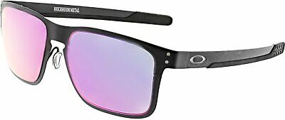 Oakley Men's Mirrored Holbrook Metal OO4123-02 Black Rectangle (Men's Oakley Holbrook Sunglasses)