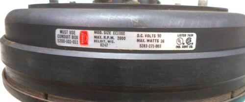 Model EC1000 1-3/8 Bore 90 VDC 24W Electric Clutch, p/n 5283-271-003