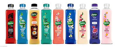 Radox Herbal Bath Soak - Imported from UK (USA Seller) - 2 Pack - Select Scent