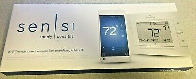 Emerson Sensi Wi-Fi 1F86U-42WF Programmable Thermostat white