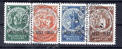 Deutsches Reich -  Herzstück aus Block 2  , auf Papier