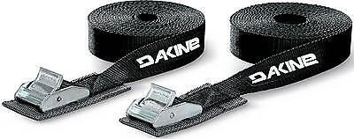 DaKine 12' Tie Down Straps - Black - New