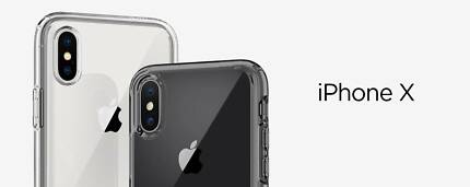 Apple iPhone X Shock Proof Cover Clear Hybrid Case - BRAND NEW