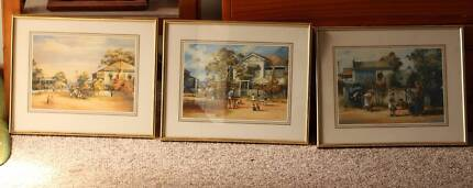 3 Prints in Frames - d'Arcy Doyle Prints