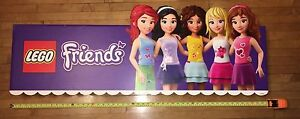 Lego Friends large store display sign