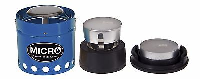 NEW UCO Micro Candle Lantern Blue Aluminum Tealight Candle Tent Light & Warmth