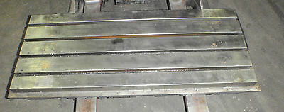 45 X 20 X 5.75 Steel Welding T-slotted Table Cast Iron Layout Plate 4 Slots