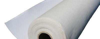 Leinwand 1 Meter Rolle Breite 160 cm  Baumwolle 380 gr/qm