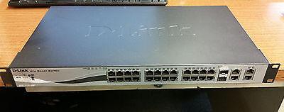 D-Link DES-1210-28P 24-Port 10/100 PoE Ethernet Network Switch