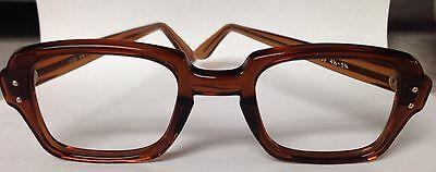 Birth Control Glasses Vintage Retro BCG military surplus eyeglass frames -