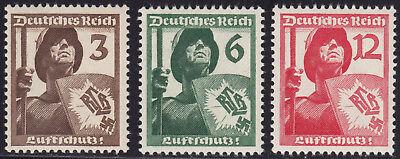 Deutsches Reich 643/44 ** Luftschutz, kpl. postfrisch