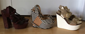 Woman's 7 & 7.5 wedge sandals