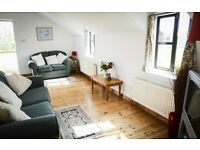 Lovely 2 bed rural apartment, short term let from 30th October, £600 + bills per month