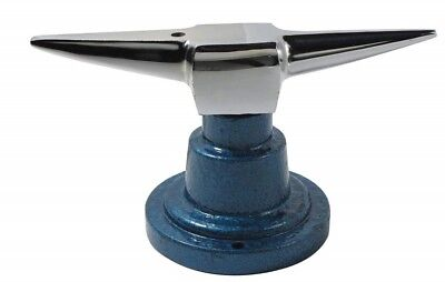 Double Horn Anvil with Round Base - Perfect Jeweler's Tool for Forming and Shapi