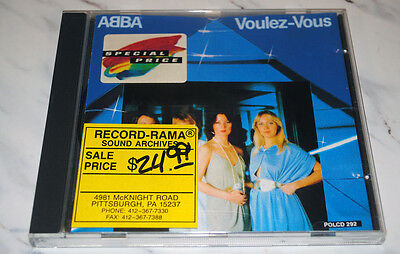 Voulez-Vous by ABBA (CD, Aug-1995, German Import, RARE)