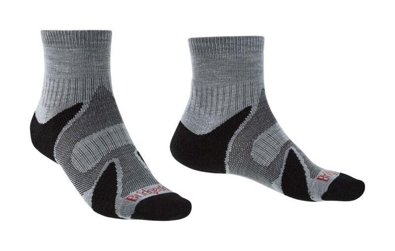 Bridgedale Trail Sport Mens Socks - Silv/Bk