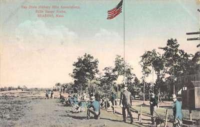 For sale Reading Massachusetts Bay State Military Rifle Association Postcard K83893