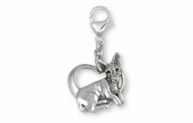 Rat Terrier Zipper Pull Jewelry Silver And Gold Handmade Dog Zipper Pull RTT1-ZP