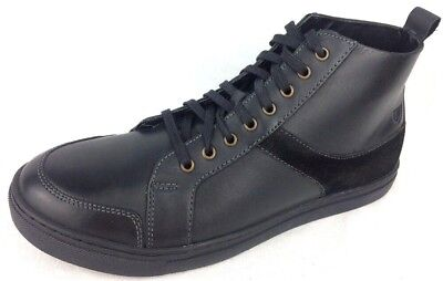 Stacy Adams Mens Winchell Moc Toe Leather Chukka Boots Shoes Black Size 10 M
