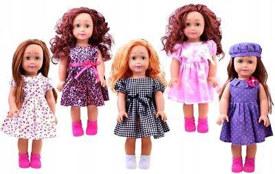 Puppe mit lange Haaren elegant hoch Spielpuppe klassische Schönheit 45 cm NEU (Puppe Mit Haar)