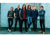 1 ticket for the Foo Fighters this Friday 22nd June 2018 at the London Stadium