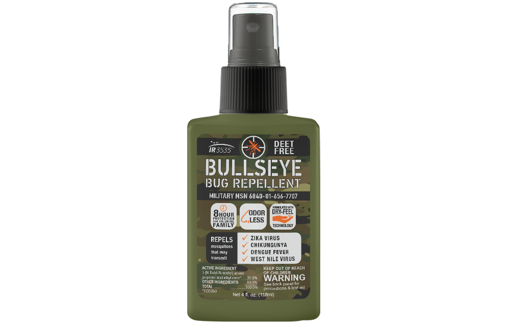 MILITARY BULLSEYE BUG INSECT MOSQUITO SPRAY REPELLENT PROTEC