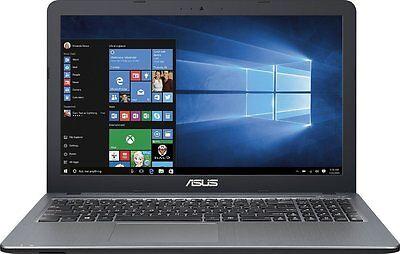 Asus VivoBook 15.6 Laptop Intel Pentium Quad Core 2.4Ghz 4GB 500GB HDD DVDRW