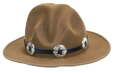 Large Concho Happy Hat Style Wool Costume Party Halloween Pharrell Williams (Pharrell Costume Hat)