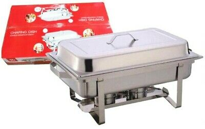 Brand New Single Compartment 9.5L Chafing/Buffet/Party Dishes or Food Warmer Single Compartment Dish