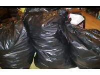 3 bags women clothes
