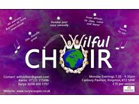 Community Choir seeks members. Come and join our choir based in Kingston