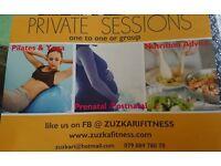 Private classes - Yoga, Pilates , Pre & Postnatal exercise