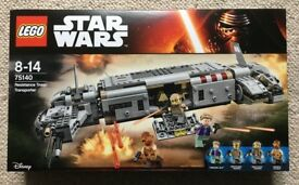 Lego Star Wars Resistance Troop Transporter 75140 - Brand New and Factory Sealed
