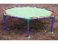 Octagonal Trampoline 116cm diameter x 32cm (H)