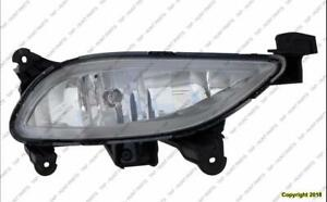 Fog Light Passenger Side Exclude Hybrid High Quality Hyundai Sonata 2011-2013