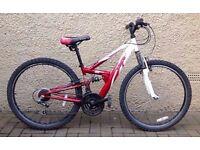 unisex 18 speed mountain bike for sale
