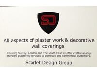 All aspects of plaster work undertaken