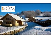 Luxury Ski Chalet for rent in French Alps