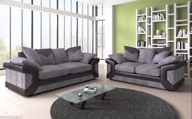 GUARANTEED CHEAPEST PRICE** BRAND NEW DINO RIGHT & LEFT HANDED CORNER SOFA / 3 & 2 SEATER SOFA SUITE
