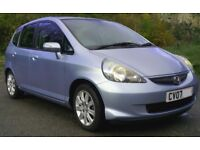 Honda Jazz, 1.3 auto, '07 registration only 29100 miles, great little town car