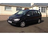 2005 Vauxhall Zafira 1.6 i 16v Club 5dr +++ 7 seater +++ only 68k miles +++ +++ only 6