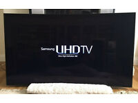 55in curved Samsung 4K Ultra HD SMART LED TV -FREEVIEW / SAT HD - WARRANTY - NO STAND
