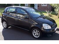 Black Toyota Yaris 1.3 VVT-i Colour Collection 5dr - Good condition for year, well looked after.
