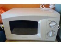 Daewoo white Microwave New