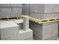 Concrete building blocks.